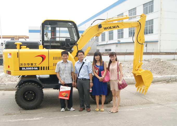 Thailand customer visited wolwa group