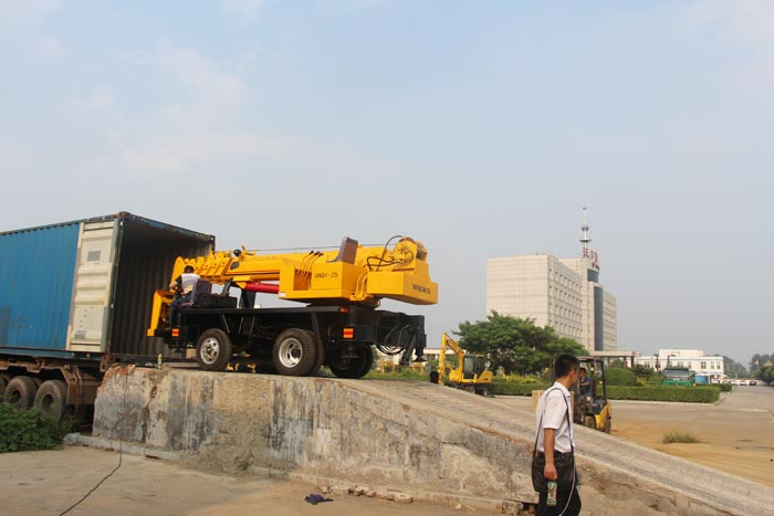 Excavators and Cranes of Wolwa Group: Be Exported to Costa Rica