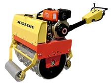 wolwa 0.6 ton walking type groove compactor